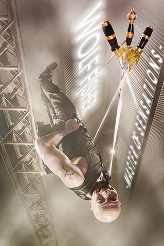 Wolf Fisher: spectacular ORIGINAL LOOPING BALANCE ACT – Foto: www.imagicians.de